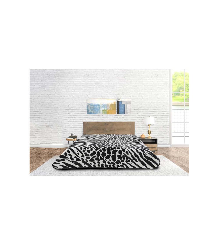 Blanket Animal Print Zebra...