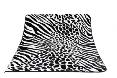 Blanket Animal Print Zebra