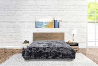 Blanket Goldendove Double Grey