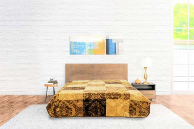 Blanket Color Comfort Gold