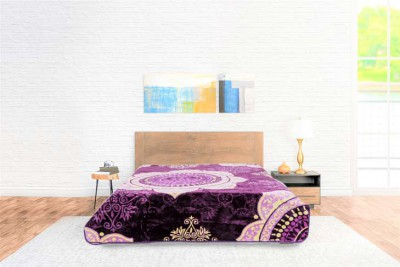 Blanket Color Comfort Purple