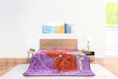 Blanket Color Basic Flower...