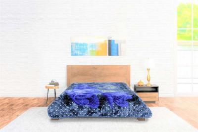 Blanket Goldendream Face Blue