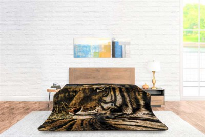 Blanket Animal Face Tiger
