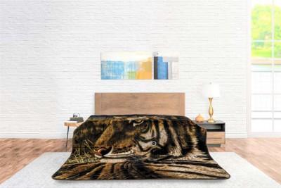 Deken Animal Face Tiger