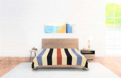 Bedspread Flannel Stripes