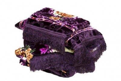 Bedspread Set 4pcs Purple